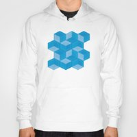 escher Hoodies featuring Escher #007 by rob art | simple