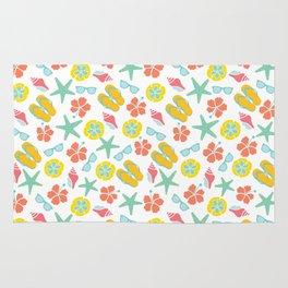 Summertime Pattern Rug