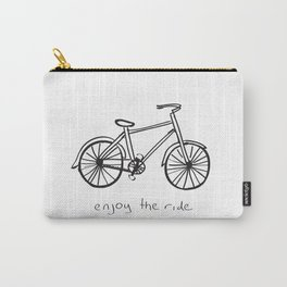 Bike - Enjoy The Ride Carry-All Pouch
