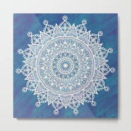 Snowflake Beauty Metal Print
