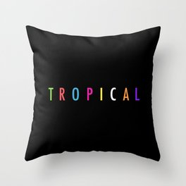 Topical '17 Throw Pillow