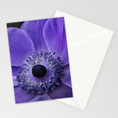 Purple Anemone Stationery Cards