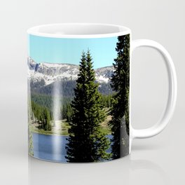 Little Molas Lake with Snowdon Peak Coffee Mug