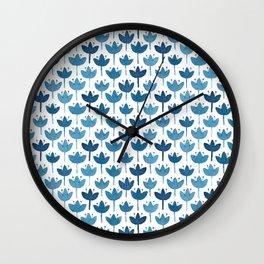 Little blues Wall Clock