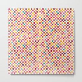 Klee Pattern Metal Print