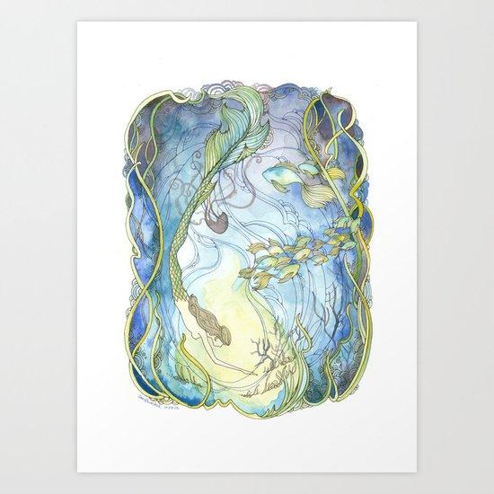 Lorelei Art Print