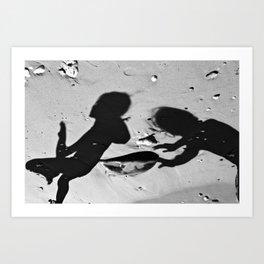 Shadows_C Art Print