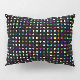 Big Hirst Polka Dot Black Pillow Sham