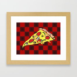 Pizza Slice Framed Art Print