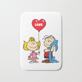 sally and linus Bath Mat