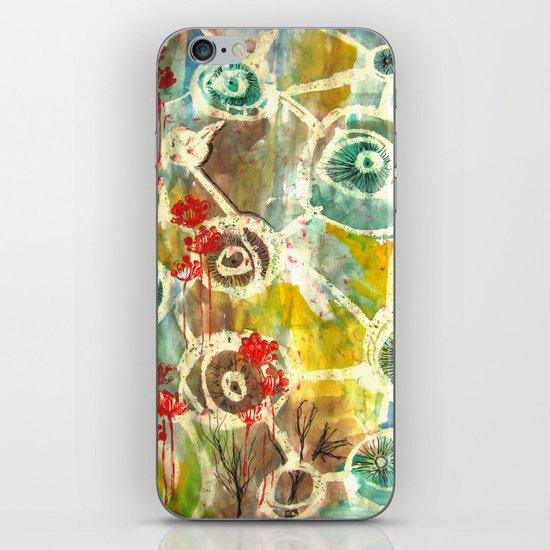 Peeking Trees iPhone & iPod Skin
