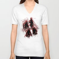 assassins creed V-neck T-shirts featuring Assassins by LitYousei