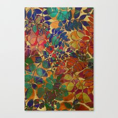 Love of Leaves Canvas Print