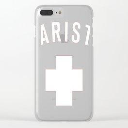 LIFESAVER T-Shirt Clear iPhone Case