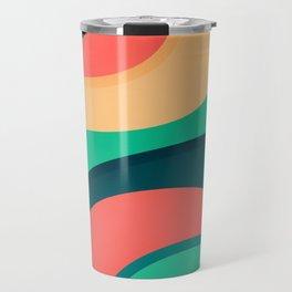 The river, abstract painting Travel Mug