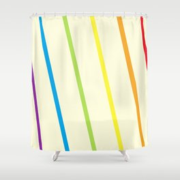 Finding the Rainbow Shower Curtain
