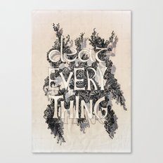 DEAR Canvas Print