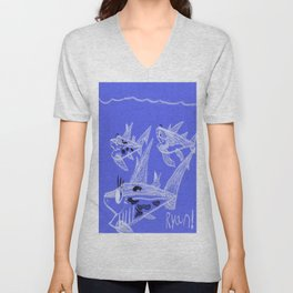 Mom & Pups Unisex V-Neck