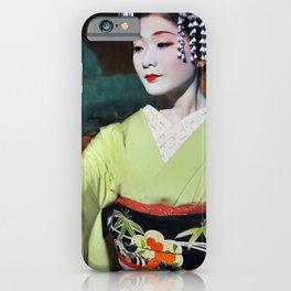 Geisha Maiko IV iPhone Case