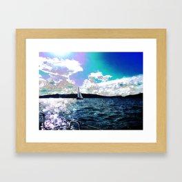 Autumn Sailing Framed Art Print