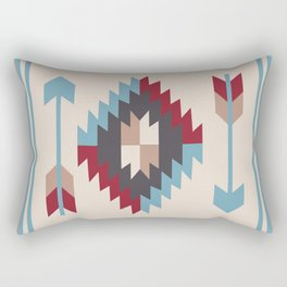 American Native Pattern No. 12 Rectangular Pillow