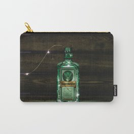 Vintage Jagermeister Liquor Bottle Aperitif color photography / photographs wall bar, kitchen, dinning room decor Carry-All Pouch