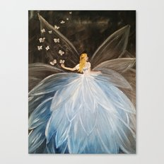 The Butterfly Fairy Canvas Print