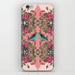 Love Birds II (pink edition) iPhone Skin