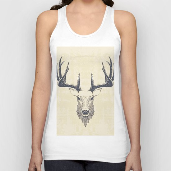 Marchelious-RL Deer Unisex Tank Top