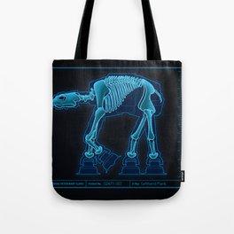 At-At Anatomy Tote Bag