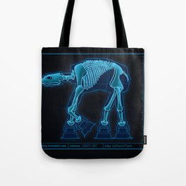 At-At Anatomy Tote Bag