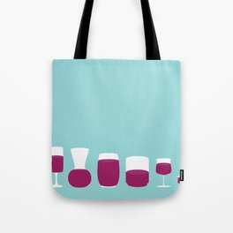 Showtasting - Wine Glass - All Tote Bag