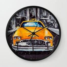 New York... New York Wall Clock