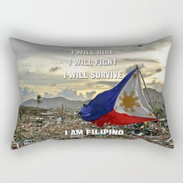 Survive Filipino Rectangular Pillow