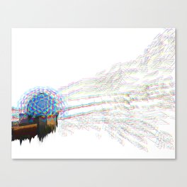 Necropolis of Panopticon no. 2b Canvas Print