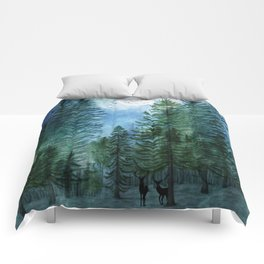 Silent Forest Comforters