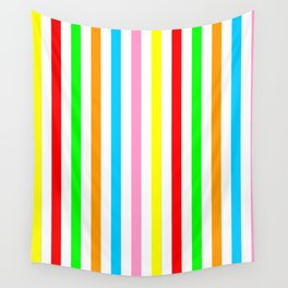 multicolor columns-mutlicolor,abstraction,abstract,fun,line,geometric,geometrical,columns, Wall Tapestry