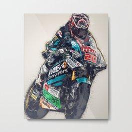 Fabio Quartararo Metal Print