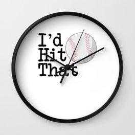 Hitting the Baseball Wall Clock