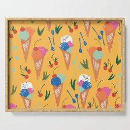 Gelati Dream // Pattern Design // Summer collection Serving Tray