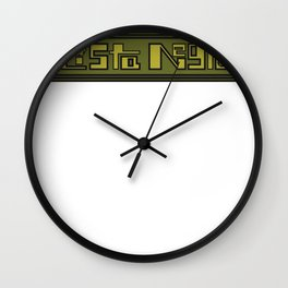 s6_t_logo3_sd Wall Clock