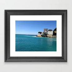 Cassis Framed Art Print