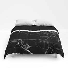 Glam Marble Comforters