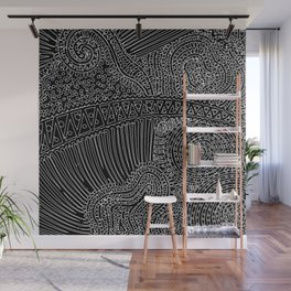 tiny lines Wall Mural