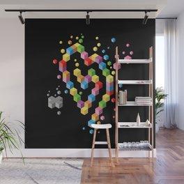 Geek Heart Wall Mural