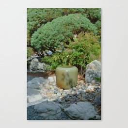 Japanese garden 7 Canvas Print