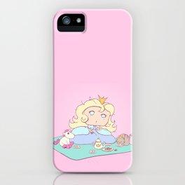 Lil Princess Tea Time iPhone Case
