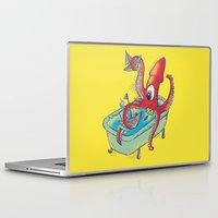 kraken Laptop & iPad Skins featuring kraken by Caramela