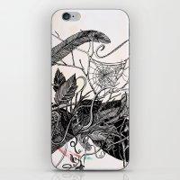 dream catcher iPhone & iPod Skins featuring Dream Catcher by brenda erickson