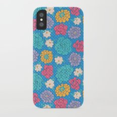 RocoFloral (blueberry) Slim Case iPhone X